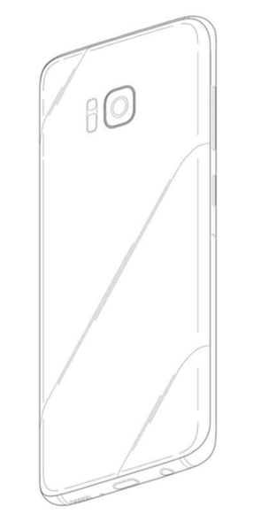 Galaxy s8 patent button 1