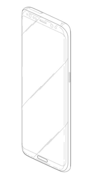 Galaxy s8 patent button 8