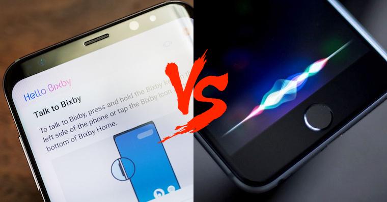 Samsung Bixby vs Apple Siri FB