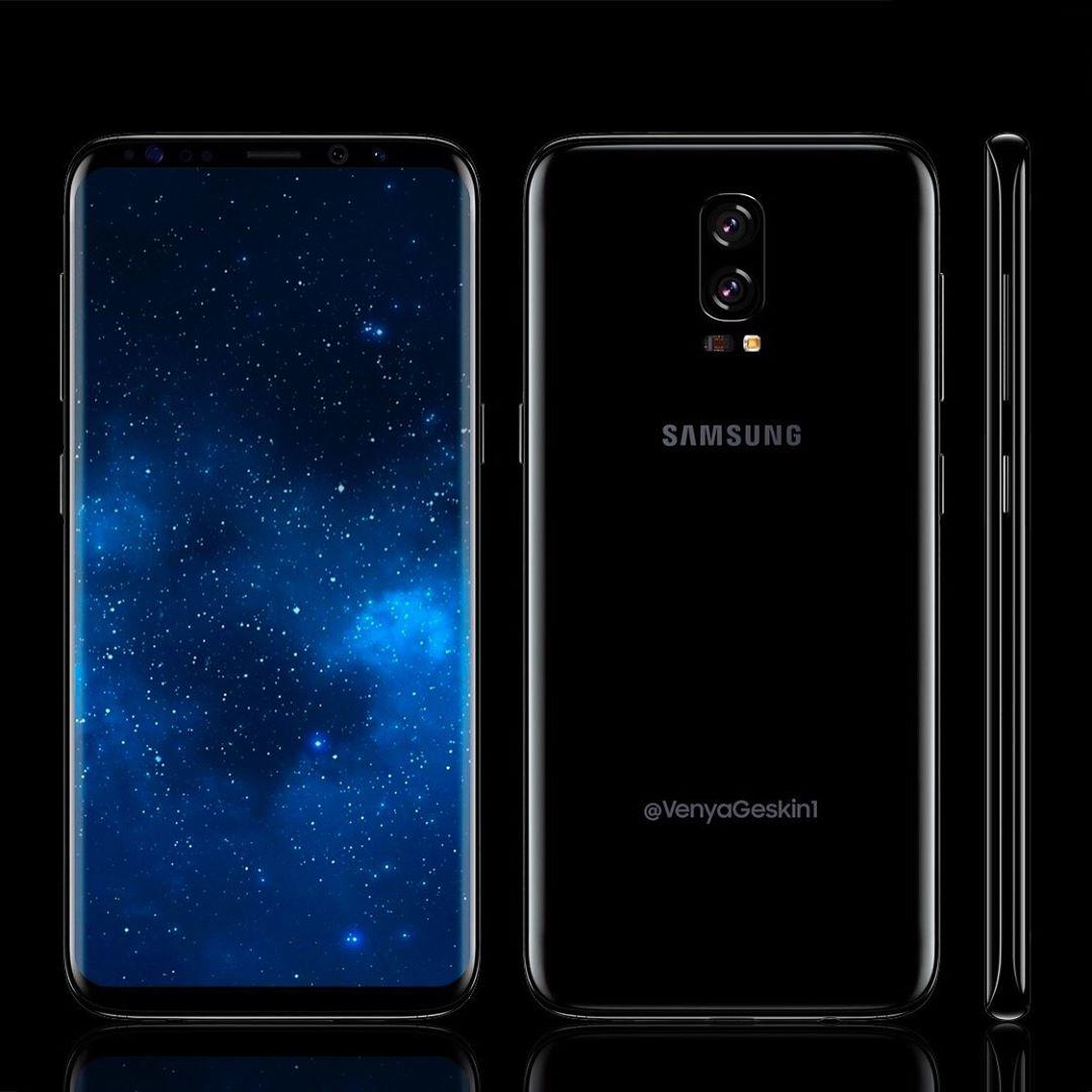 Samsung Galaxy Note 8 dual camera concept