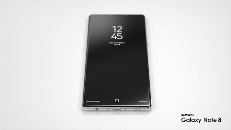 Samsung Galaxy Note 8 koncept 5