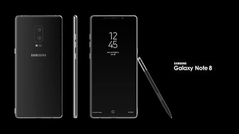 Samsung Galaxy Note 8 koncept 7