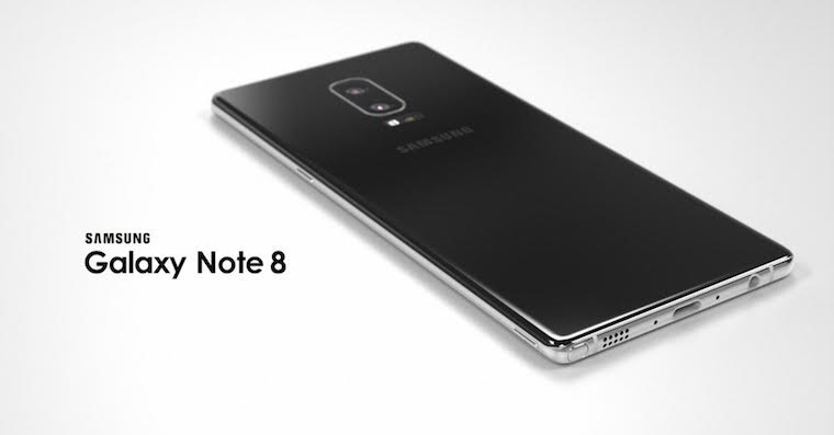 Samsung Galaxy Note 8 koncept FB