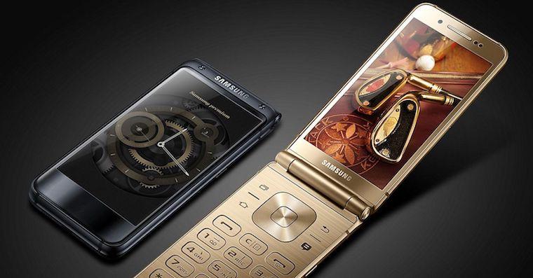 Samsung W2017 flip phone FB