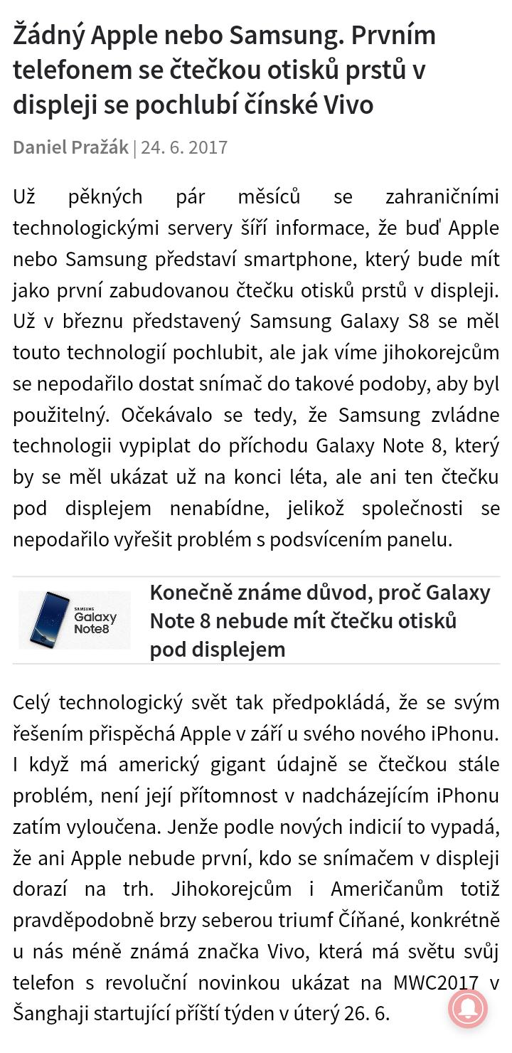 7 A takhle lze ü°st weby v appce Samsung Internet