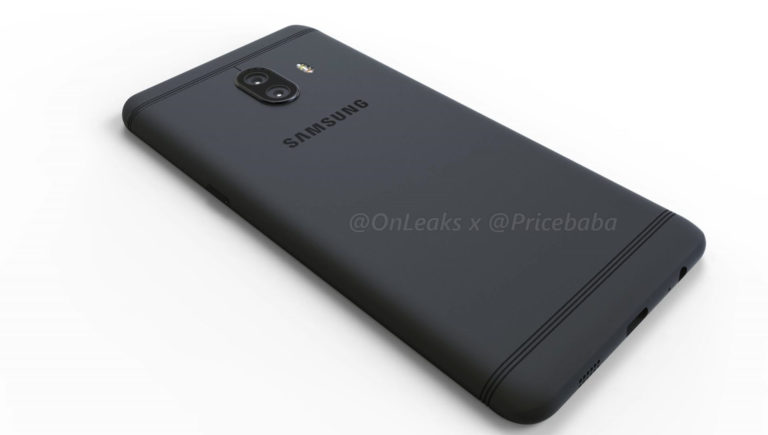 Samsung Galaxy C10 dual camera render 7
