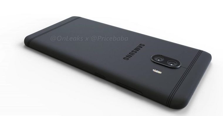 Samsung Galaxy C10 dual camera render FB
