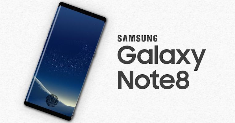 Samsung Galaxy Note 8 fingerprint FB