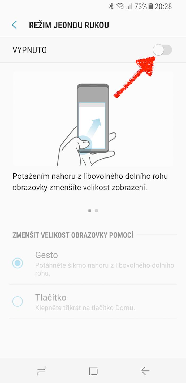 Samsung Galaxy S8 domovske tlacitko triky 10