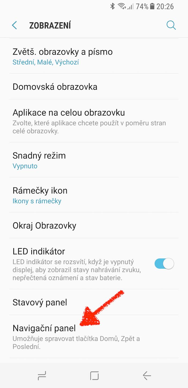 Samsung Galaxy S8 domovske tlacitko triky 5