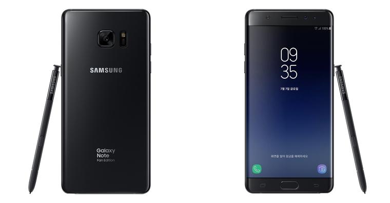 Galaxy Note Fan Edition FE Note 7 FB