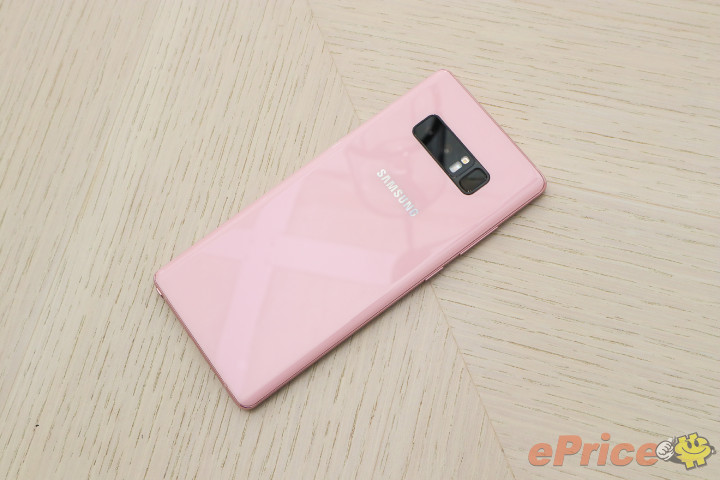 Galaxy Note 8 Star Pink 11