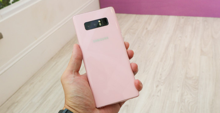 Galaxy Note 8 Star Pink FB