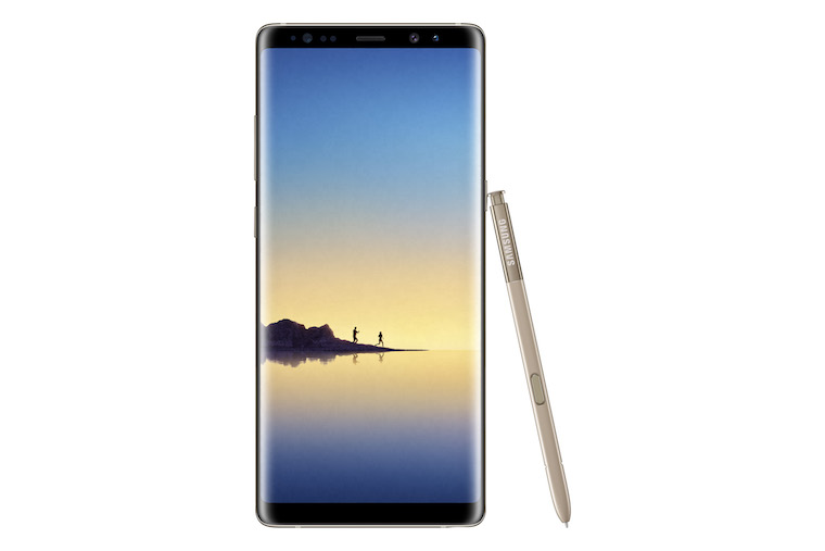 Galaxy Note8 Maple Gold 2