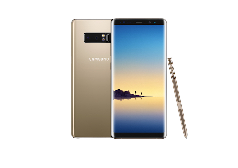 Galaxy Note8 Maple Gold 5