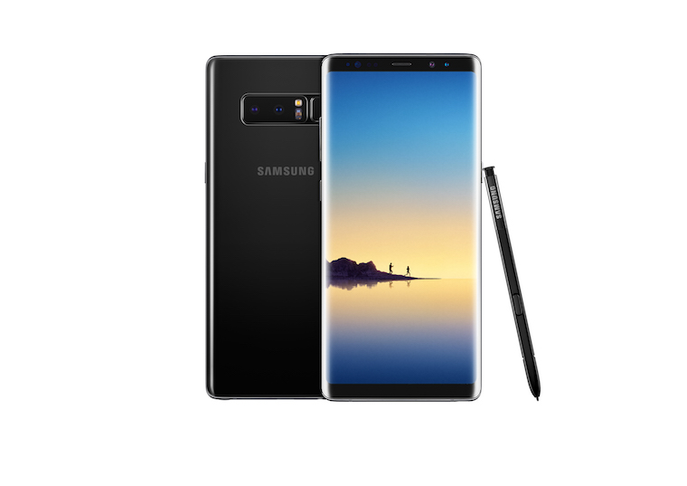 Galaxy Note8 Midnight Black 1