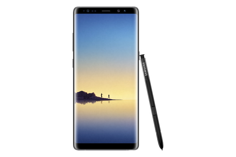 Galaxy Note8 Midnight Black 4