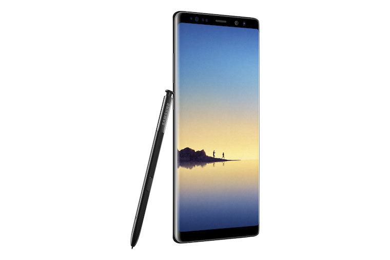 Galaxy Note8 Midnight Black 6