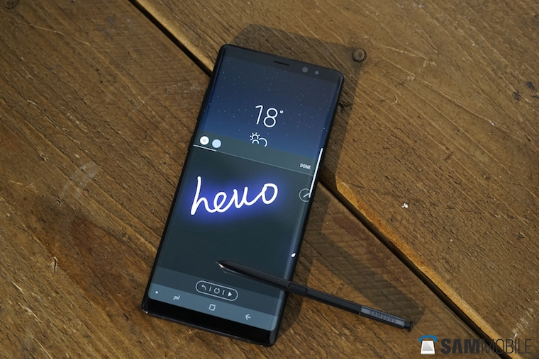 Galaxy Note8 hands-on 2