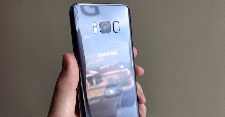 Galaxy S8 fingerprint FB
