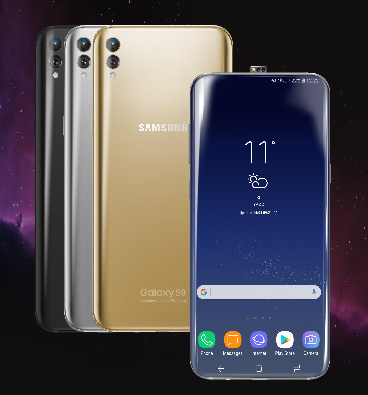 Galaxy S9 concept Metti Farhang 1
