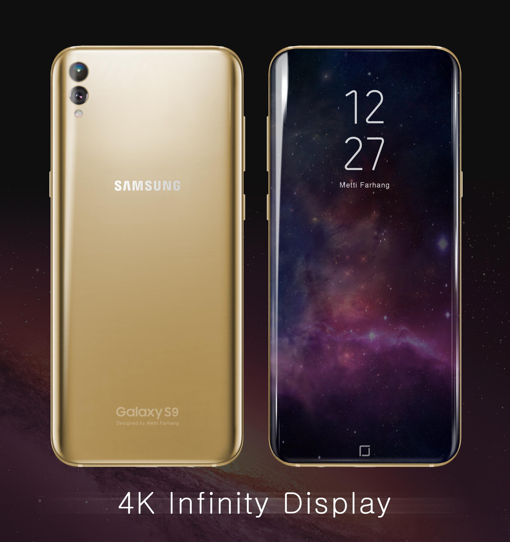 Galaxy S9 concept Metti Farhang 2