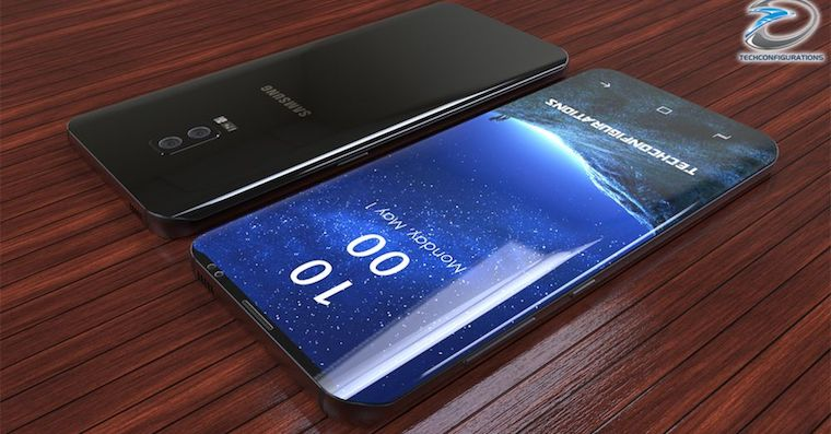 Galaxy S9 concept Techconfigurations FB