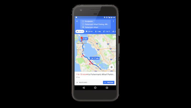 Google Maps indicator 1
