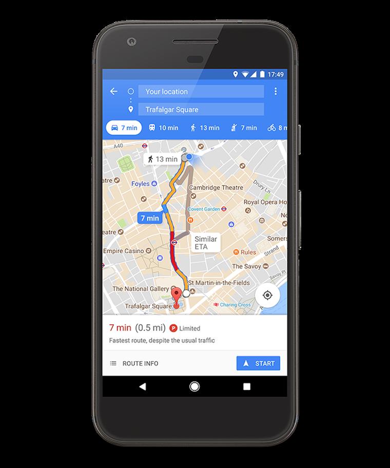 Google Maps indicator 6