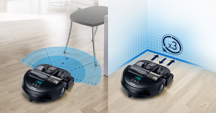 Samsung POWERBot VR9300 roboticky vysavac technologie FB