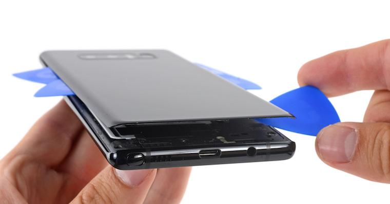 Galaxy Note 8 teardown FB
