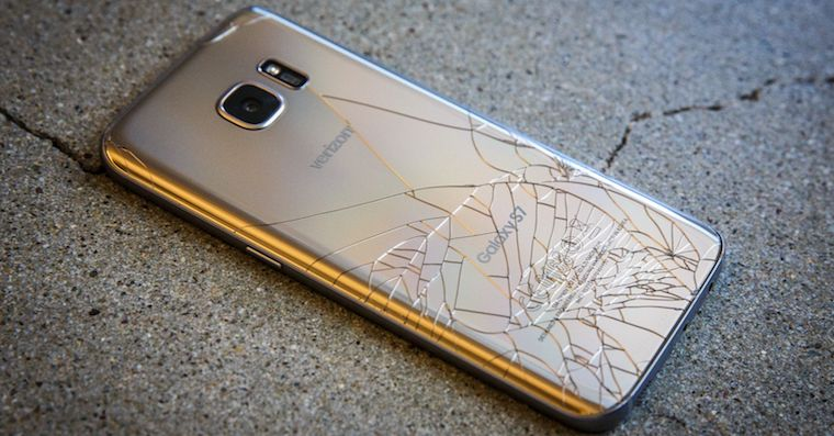 Galaxy S7 cracked FB