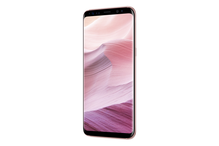 Galaxy S8 Rose Pink 6