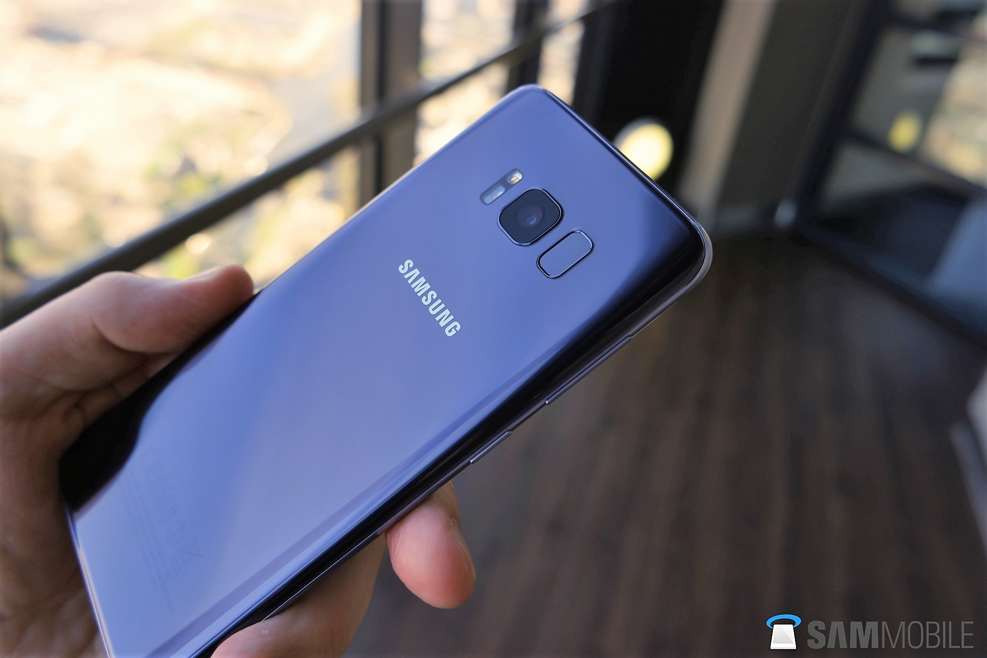 Galaxy S8 Coral Blue 3