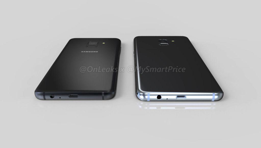 Samsung Galaxy A5 Galaxy A7 2018 render 10