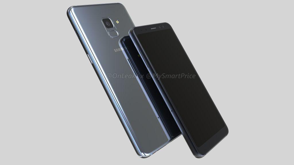 Samsung Galaxy A5 Galaxy A7 2018 render 12