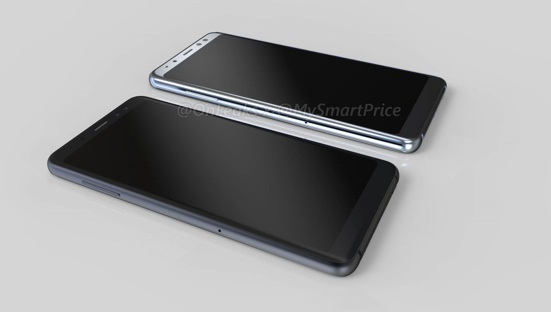 Samsung Galaxy A5 Galaxy A7 2018 render 13