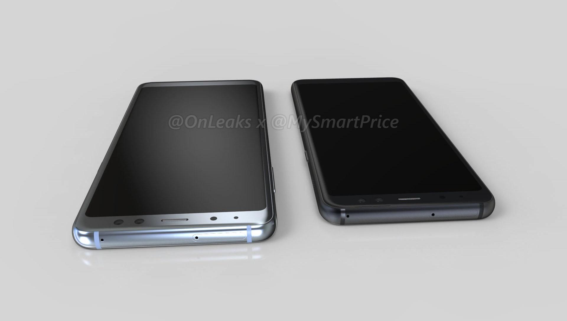 Samsung Galaxy A5 Galaxy A7 2018 render 2