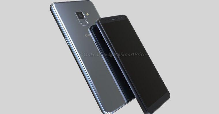 Samsung Galaxy A5 Galaxy A7 2018 render FB