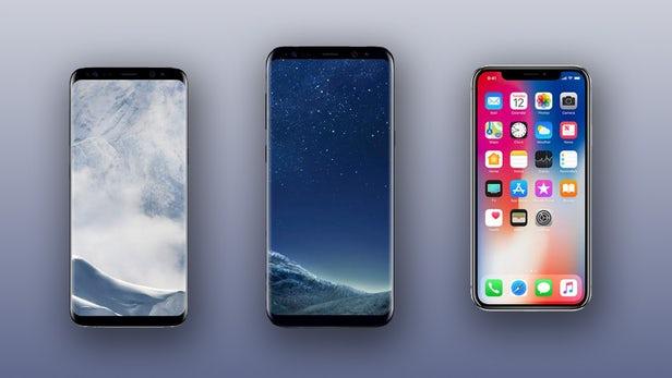 iphone-x-samsung-galaxy-s8-