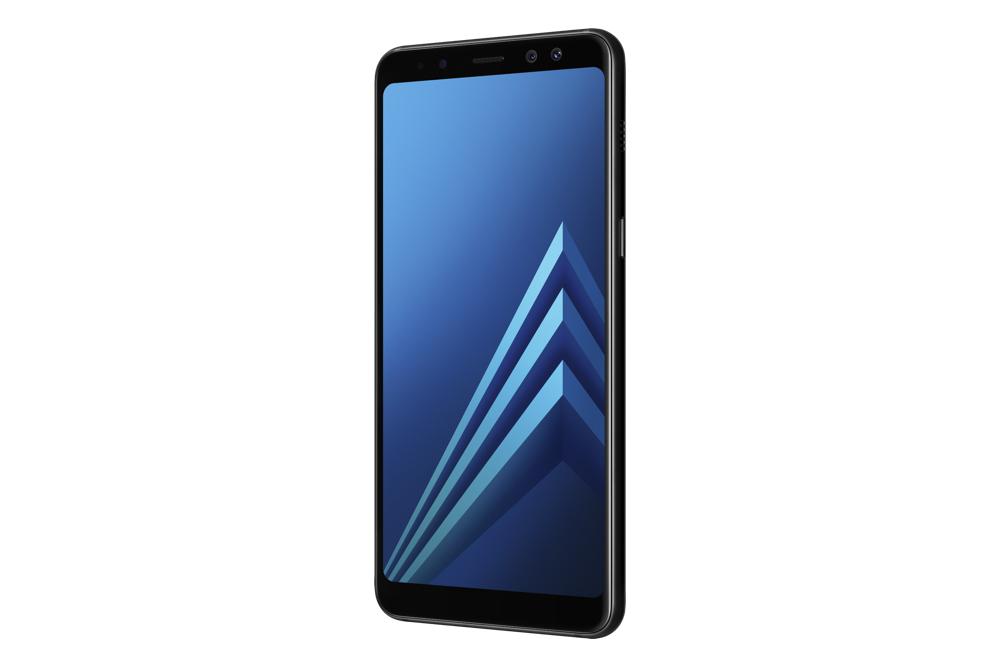 Galaxy A8 Black 4