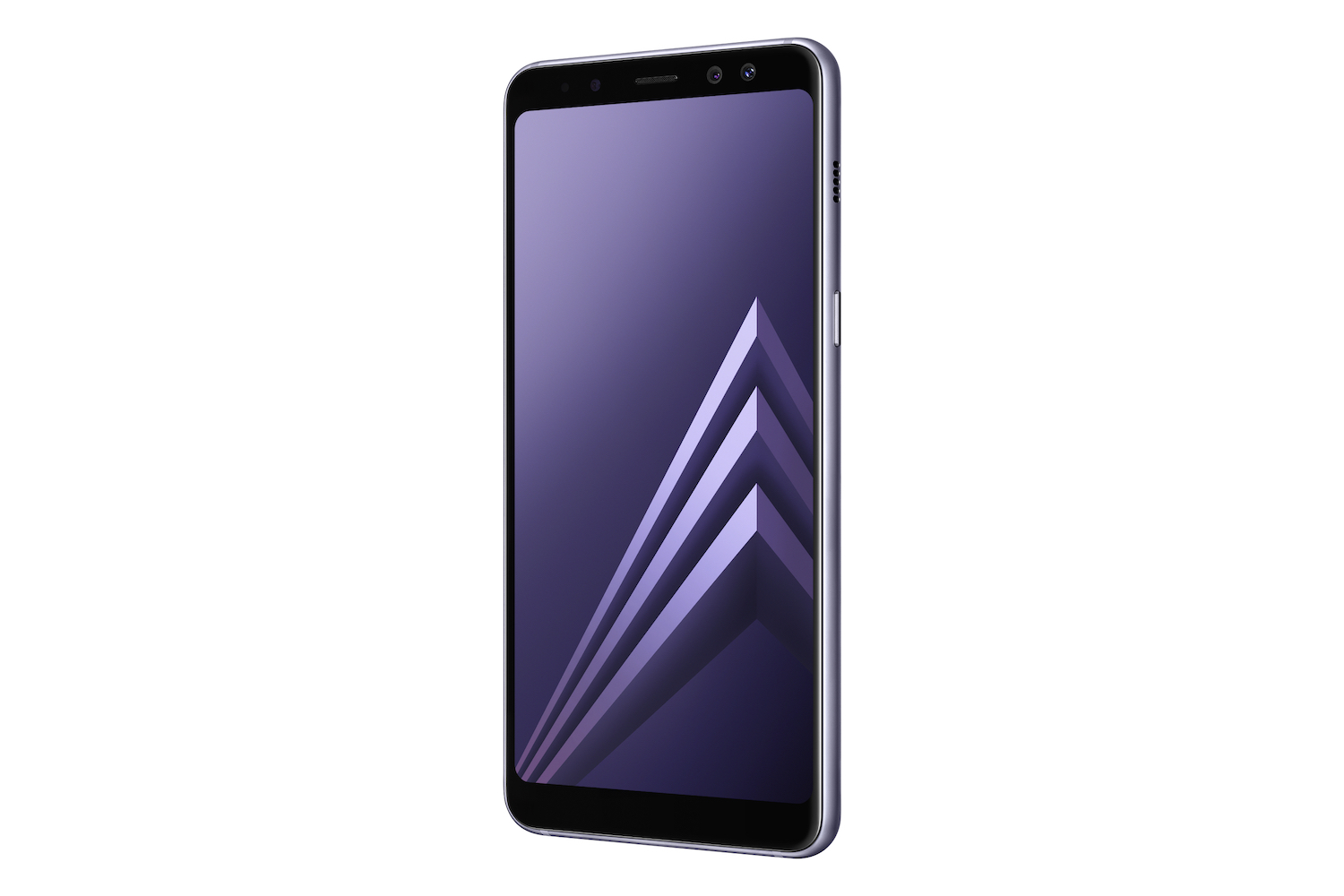 Galaxy A8 Orchid Gray 4
