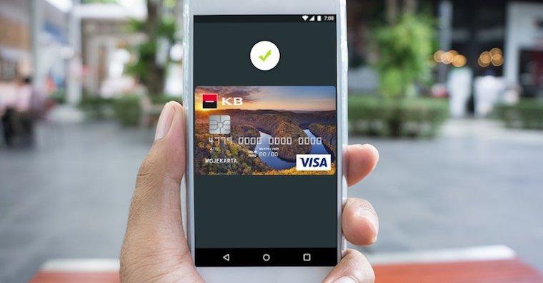 Komercni banka Android Pay FB