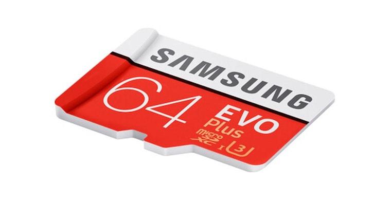Samsung microSD card FB