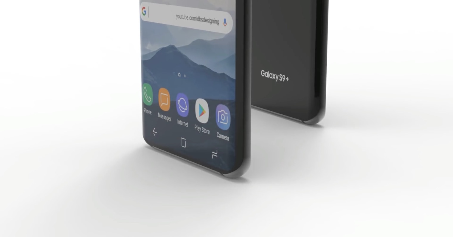 Galaxy S9 render FB
