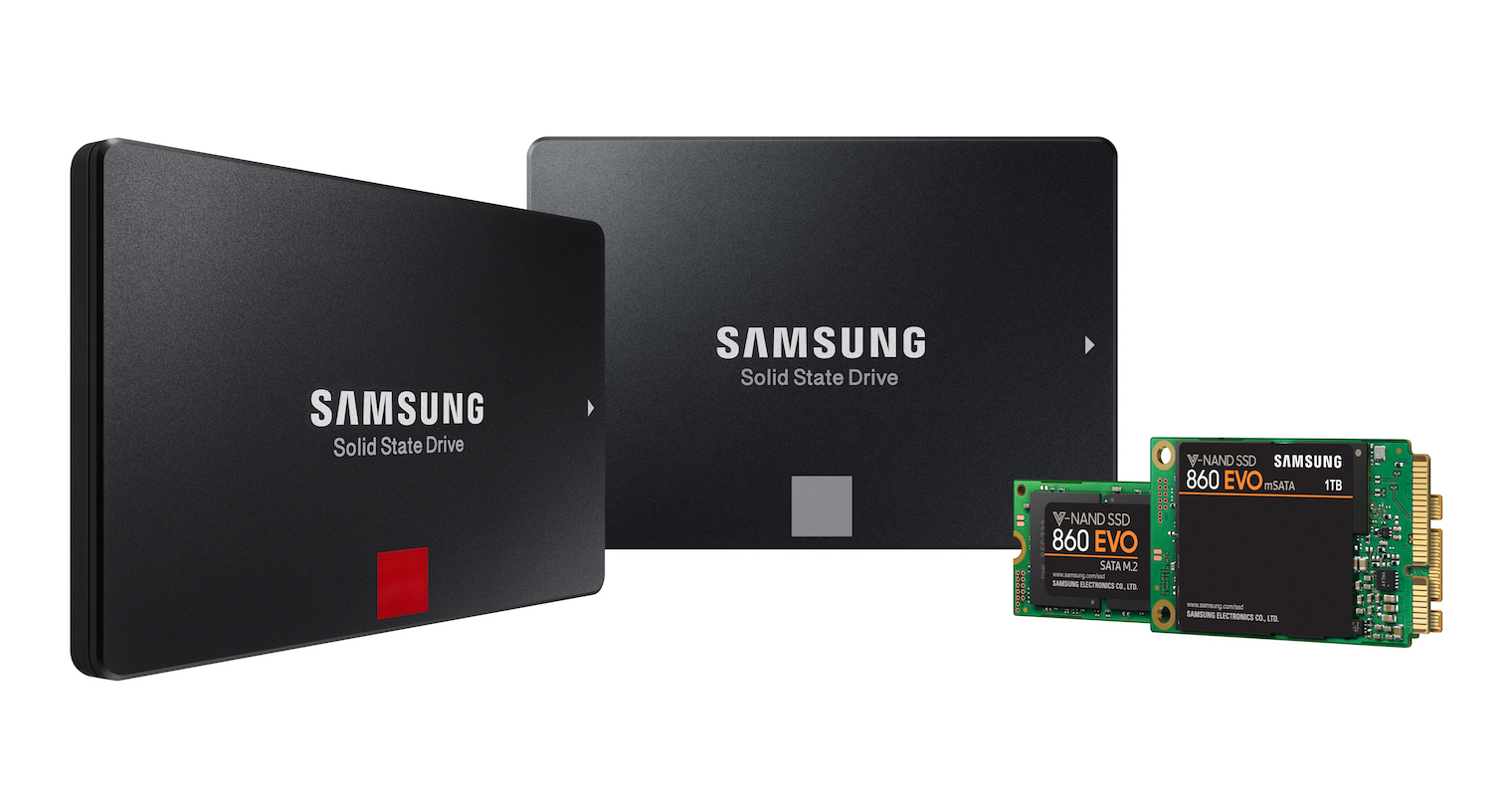 Samsung 860 SSD FB