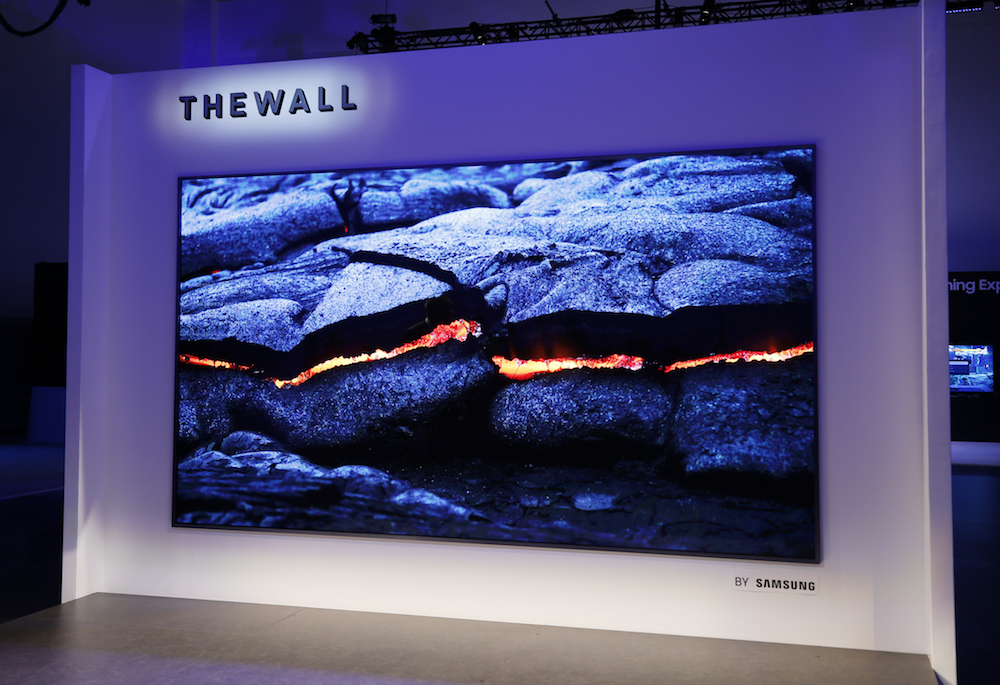Samsung The Wall MicroLED TV 5