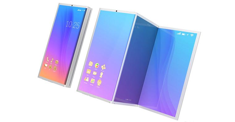 Samsung foldalbe-smartphone-FB