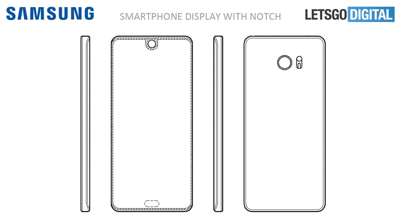 Samsung patent senzory displej 3