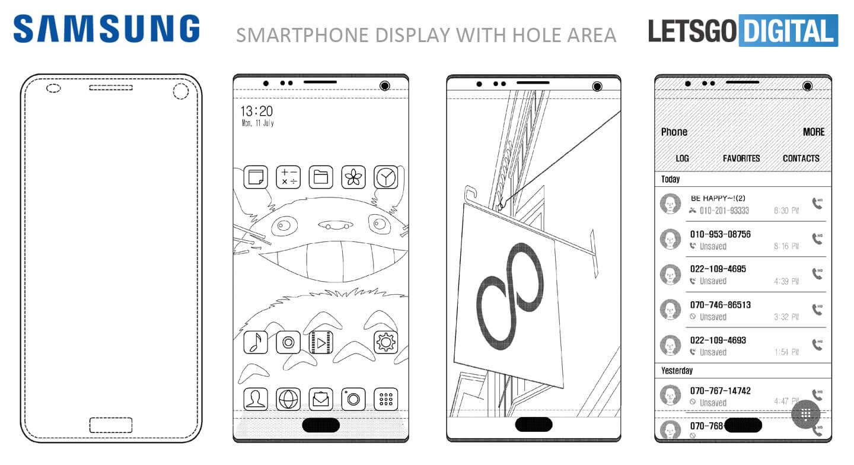 Samsung patent senzory displej 4